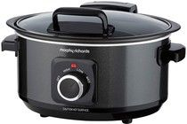 MORPHY RICHARDS Slow cooker  Sear And Stew 3,5L Fällbart Lock