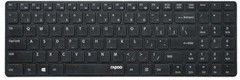 Rapoo E9110 2.4 G Wireless Ultra-Slim Keyboard, Black